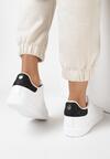 Biało-Czarne Buty Sportowe Vanillabelle