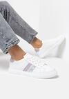 Biało-Fioletowe Buty Sportowe Echiteia