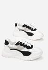 Biało-Czarne Sneakersy Eireshell