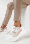 Biało-Różowe Sneakersy Eireshell