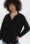 Czarna Koszula Leucodorise