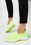Limonkowe Buty Sportowe Corderinia