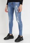 Niebieskie Jeansy Skinny Atecine