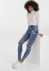 Niebieskie Jeansy Skinny Aetheme