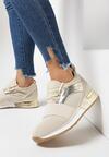Beżowe Buty Sportowe Ennerr