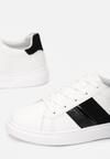 Biało-Czarne Buty Sportowe Anisesis