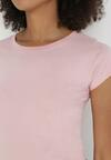 Jasnoróżowy T-shirt Corophise