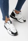 Biało-Czarne Buty Sportowe Siffe