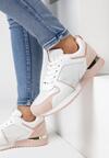 Biało-Różowe Buty Sportowe Siffe