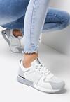 Biało-Błękitne Buty Sportowe Siffe