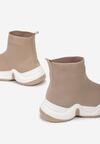 Beżowe Sneakersy Galexialyn
