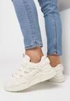 Beżowe Sneakersy Wilhelmina