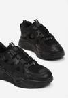 Czarne Sneakersy Wilhelmina