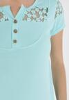 Jasnoniebieski T-shirt Selestosi