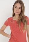 Łososiowy T-shirt Selestosi