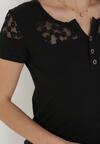 Czarny T-shirt Selestosi
