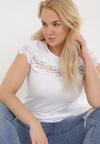 Biały T-shirt Cireilla