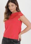 Czerwony T-shirt Cireilla