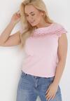 Jasnoróżowy T-shirt Cireilla
