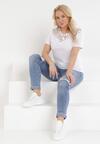 Biały T-shirt Zeuxose