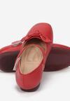 Czerwone Balerinki Silethe