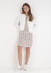 Biała Sukienka Theanophe