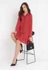 Czerwona Sukienka Misite