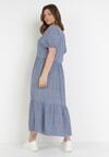 Niebieska Sukienka Prisishia