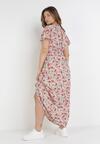 Różowa Sukienka Isiphis