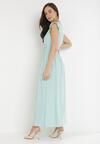 Miętowa Sukienka Calyphone
