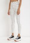 Białe Spodnie Skinny Aigamilia