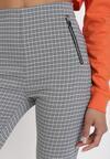 Niebieskie Spodnie Skinny Asteosea