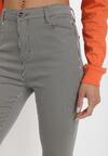 Czarne Spodnie Skinny Themirose