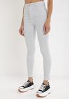 Niebieskie Spodnie Skinny Themirose