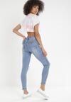 Niebieskie Jeansy Skinny Cordevien