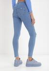 Niebieskie Jeansy Skinny Samaia