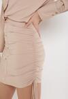 Beżowa Sukienka Peshypise