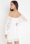 Biała Sukienka Saphone
