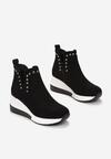 Czarne Sneakersy Delmabel