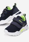 Niebiesko-Zielone Buty Sportowe Ophiistae