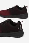 Czarno-Bordowe Buty Sportowe Ocearien