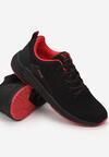 Czarno-Czerwone Buty Sportowe Pirelina