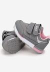 Szaro-Różowe Buty Sportowe Ginerian