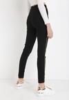 Czarne Spodnie Skinny Megn