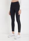 Granatowe Spodnie Skinny Megn