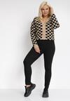 Czarne Spodnie Skinny Renaya