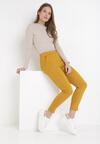 Żółte Spodnie Skinny Aeliyah
