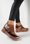 Camelowe Sneakersy Mapeloris