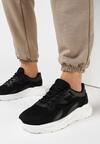 Czarne Sneakersy Gwinen