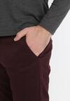 Bordowe Spodnie Amyssa